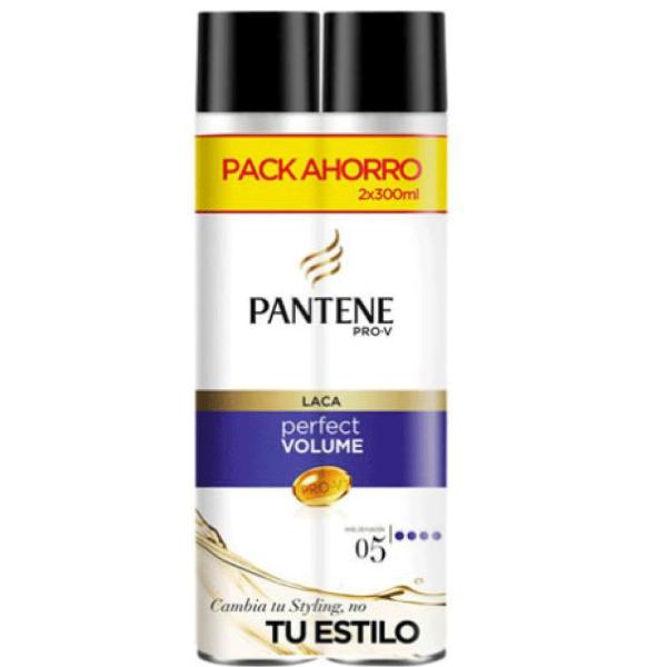 Pantene laca Perfect Volume Pack Ahorro 300 ml + 300 ml